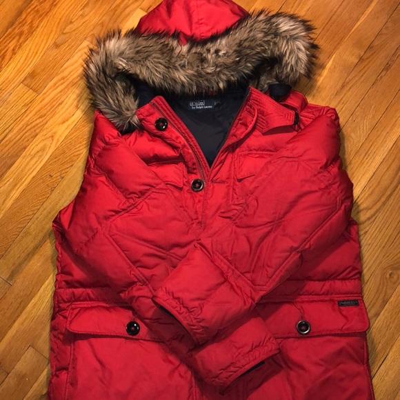 Ralph Men's Xl Polo Coat Winter Lauren deBrxCo